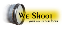 we shoot logo