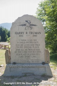 Harry R. Truman Marker