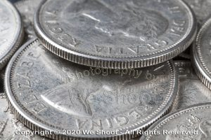 Seattle Coin Photography by We Shoot.